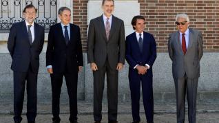 El Rey, con cuatro expresidentes en el Patronato del Real Instituto Elcano.