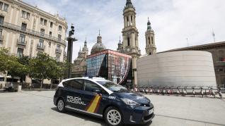 Presentación de los nuevos vehículos de la Policia Nacional