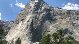 Una pequeña escaladora hace historia en el parque de Yosemite