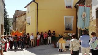 Celebración del Corpus en distintas localidades de la provincia