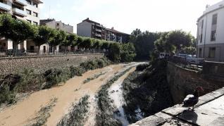 Navarra declara zona catastrófica en 13 municipios por las inundaciones.