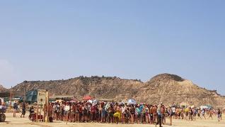 Festival Nowhere en la sierra de Jubierre.