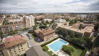 Huesca regula las velocidades  de sus sectores y mira siempre adelante