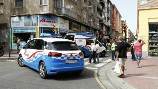 Muere una mujer atropellada por un camión de basura en el barrio de Las Delicias de Zaragoza