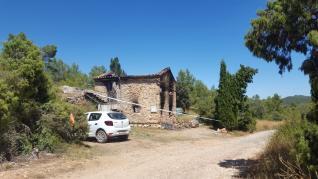 Incendio en Olba, Teruel.