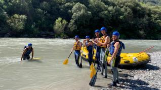 SD Huesca rafting