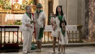 Presentación de los niños ante San Lorenzo