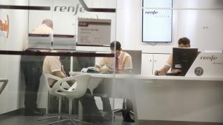 Afecciones en Zaragoza por la tercera huelga de Renfe en lo que va de verano.