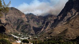 Incendio en Gran Canaria