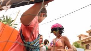Super Mario y los indios se dan cita en Figueruelas