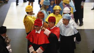 Acto de apertura del curso académico en la Universidad de Zaragoza