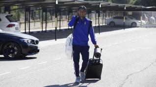 El Real Zaragoza parte en dirección a Oviedo