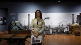 Exposición 'Patrimonio industrial. La historia reciente de Zaragoza', en el Centro de Historias.