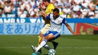 Real Zaragoza-Cádiz en La Romareda.