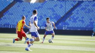 Real Zaragoza-Korona Kielce de la Youth League, en La Romareda.