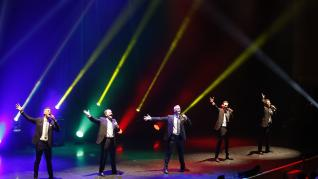 Concierto de B Vocal en el Auditorio de Zaragoza