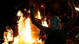 Cuarta noche de incidentes en Barcelona