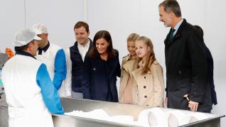 La Princesa Leonor visita el pueblo ejemplar asturiano