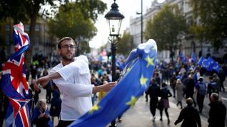 Movilizaciones contra el 'brexit'.