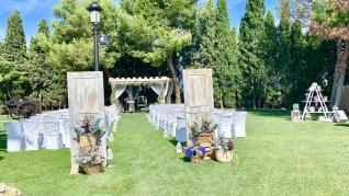 Altar de la finca Don Quijote