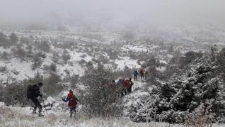 Sierras de Gúdar y Javalambre este domingo, 10 de noviembre