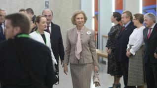 Visista de la Reina Sofía a Huesca