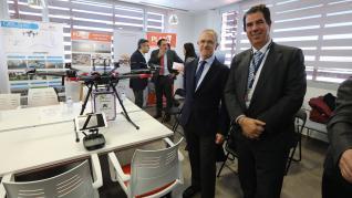 Pharmadron presenta en Teruel su plan para distribuir con drones medicinas en zonas rurales