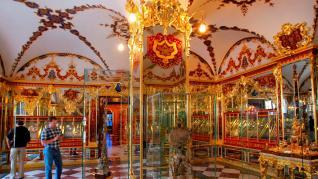 """""""Espectacular"""" robo en la Bóveda Verde, la cámara del tesoro del palacio de Dresde"""