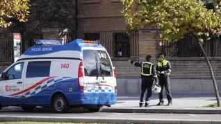 Herido un hombre tras ser atropellado por el tranvía en el paseo de Isabel la Católica