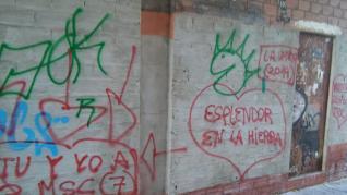 Pintadas en el Rollo: de las paredes al mobiliario urbano