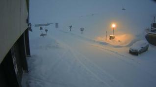 El Portalet, cerrado por la nieve
