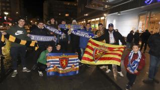 Recibimiento Real Zaragoza