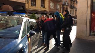 Atraco frustrado en Teruel