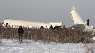 Accidente aéreo en Kazajistán