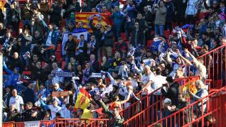 Imágenes del partido de Copa del Rey entre el Real Zaragoza y el Nástic de Tarragona.
