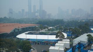 El humo acecha Melbourne