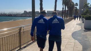 El Real Zaragoza, de paseo por Las Palmas