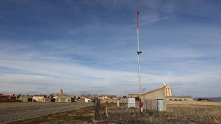 La estación meteorológica de Bello