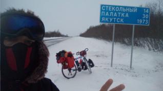 Imágenes de la aventura de José Andrés Abián Pajares por Siberia.