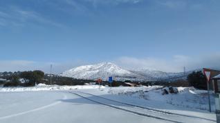 Nieve en Used.
