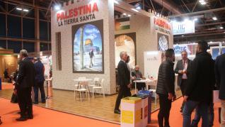 Pabellones exóticos en la Feria Internacional de Turismo (Fitur) de Madrid