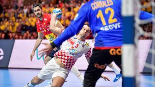 Final del Europeo de Balonmano, entre España y Croacia