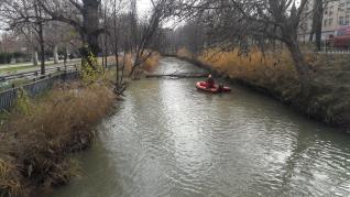 Búsqueda de Regina Cabeza en el Canal Imperial.