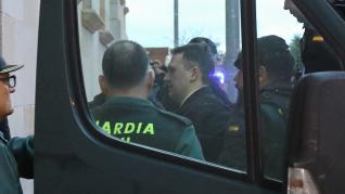 Igor el Ruso entra en los juzgados de Teruel.