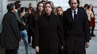 Funeral en La Almudera por la infanta Pilar de Borbón.