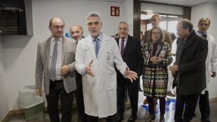 El presidente de Aragón, Javier Lambán, ha inaugurado el nuevo bloque quirúrgico del Hospital Ernest Lluch de Calatayud