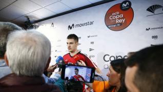 Entrenamiento del Casademont Zaragoza previo al partido contra el Unicaja de Copa del Rey