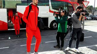 La selección española de baloncesto en España