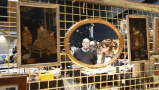 Feria de antigüedades en la Multiusos.