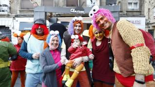 Gran desfile del Carnaval 2020 en Zaragoza